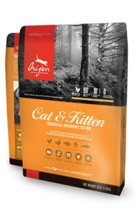ORIJEN Cat & Kitten Biologically Appropriate Cat Food Bag