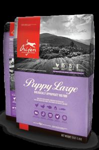 Orijen Large Puppy Biologically Appropriate Dog Food Bag