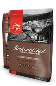 ORIJEN Regional Red Biologically Appropriate Dog Food Bag